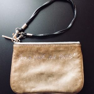 Rebecca Minkoff CORY Pouch This is Mine Not Yours